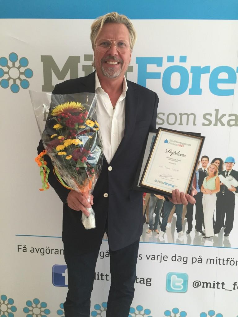 Småföretagarnas favorit på Södertörn 2015